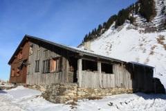 Alte Hütte am Faschinajoch